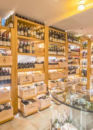 venetian well fine dining restaurant corfu wine cellar small